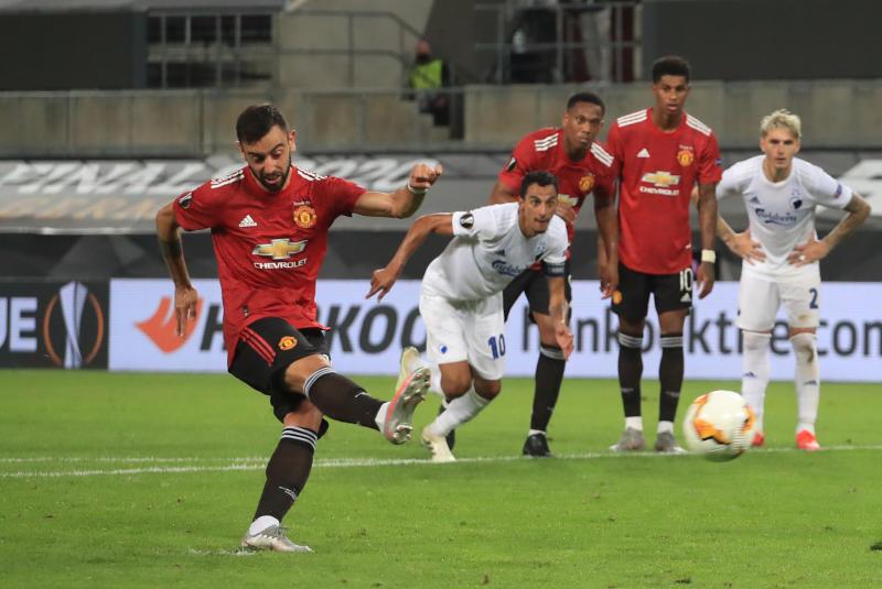 Man United 1-0 Copenhagen: Red Devils book Europa League semi-final spot