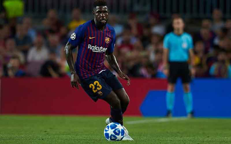 Man United and Arsenal offered Umtiti as Barcelona eye summer transfer