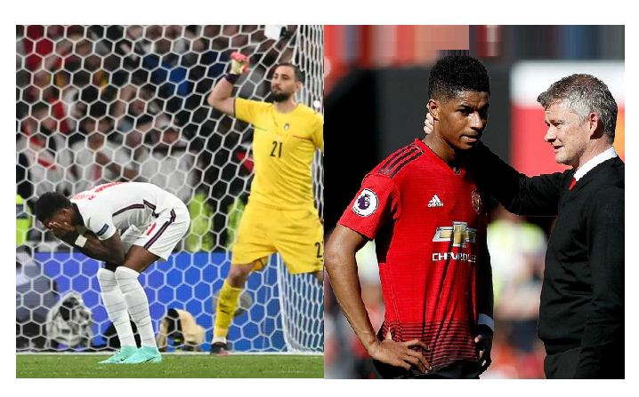Man United manager Ole Gunnar speaks out on Marcus Rashford penalty miss