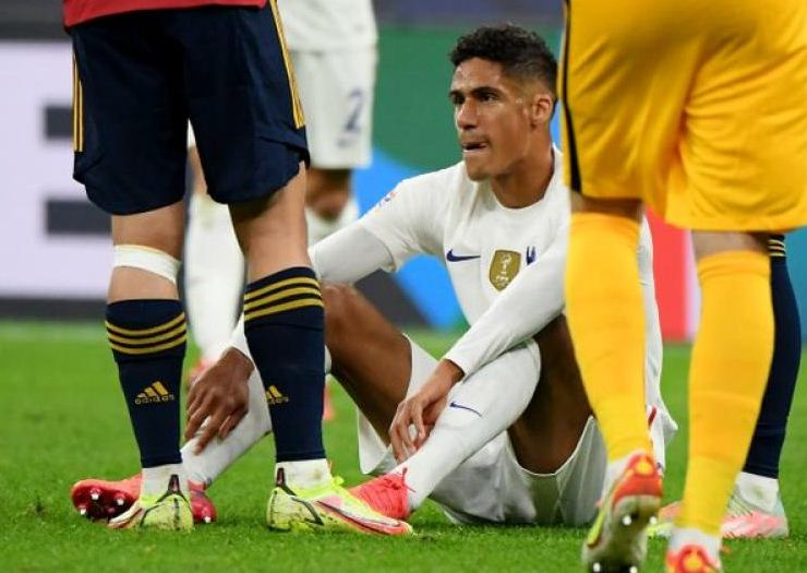 Man Utd's Varane ruled out for a few weeks with groin injury