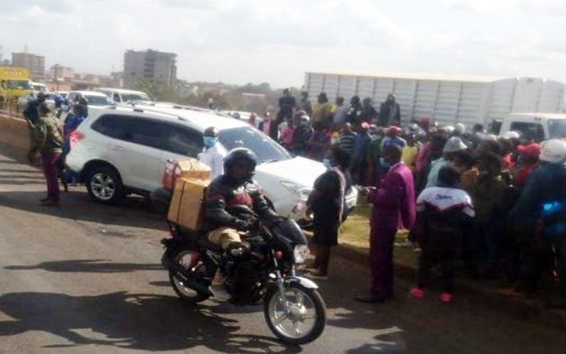 Man whose vehicle was sprayed with bullets on Thika Road dies in hospital
