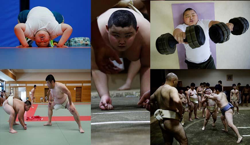 Meet Kyuta: 10-year-old, 85-kilo Sumo wrestler in training [Photos]