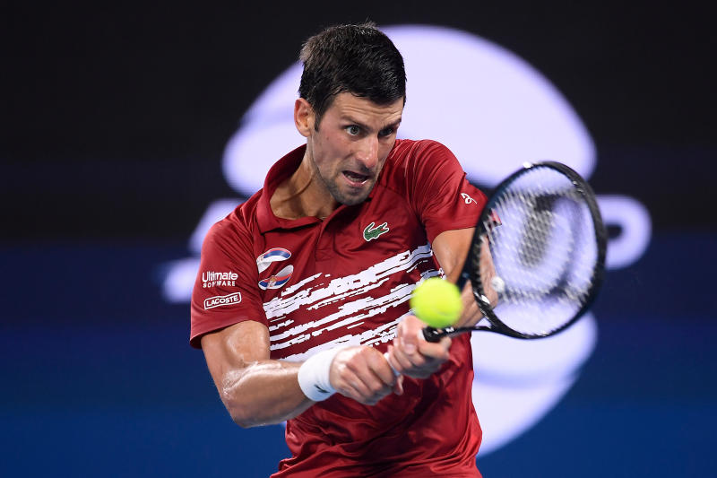 Men's world number one tennis player  Djokovic tests positive for COVID-19