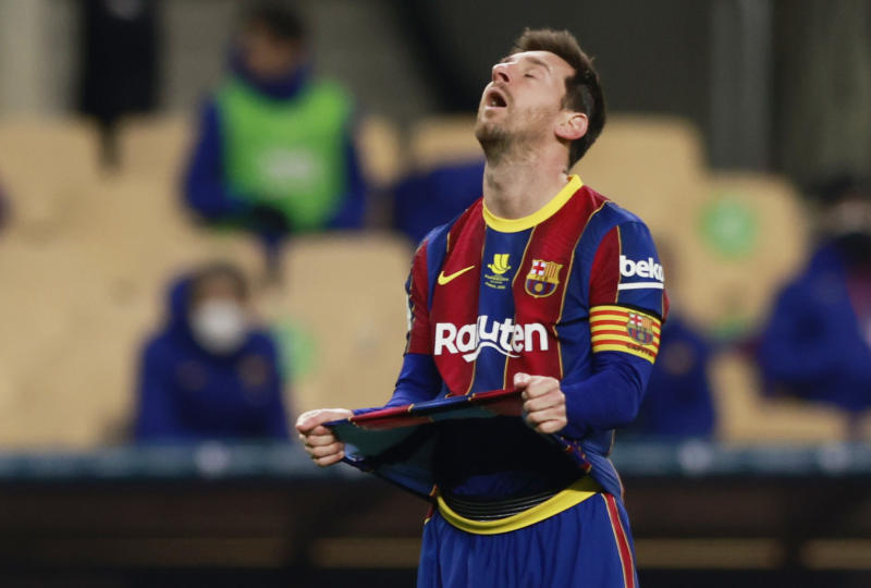 Messi banned for two games after first-ever red card