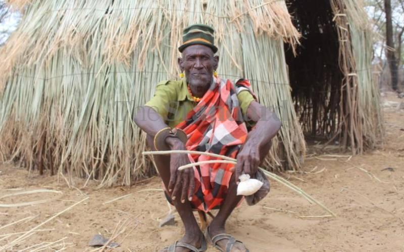 Modern knives killing abarait trade among the Turkana