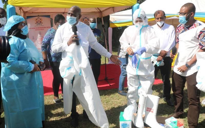 Mombasa starts home based care in corona fight