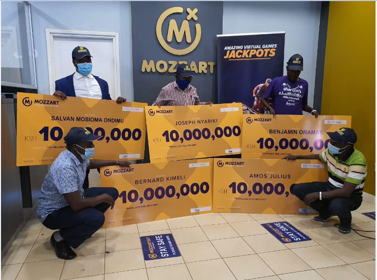 Mozzart Daily Jackpot! A sum of Shs 60,000,000  on the SAME DAY!