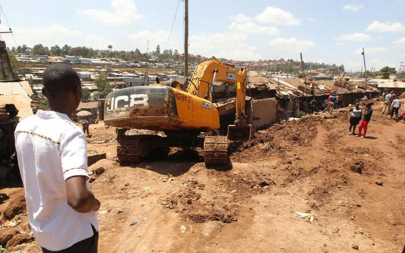 Nairobi slums to have walkways, cycle lanes, says Kura