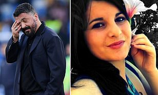Napoli coach Gennaro Gattuso's sister dies aged 37