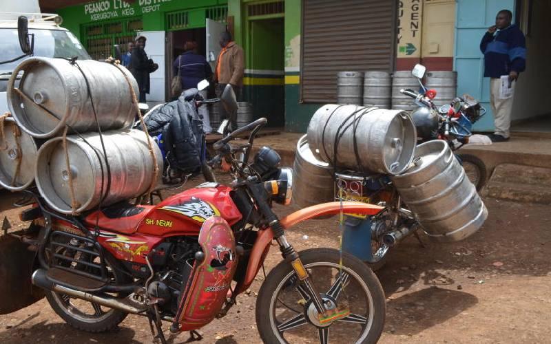 New excise duty proposals, virus spell doom for keg beer