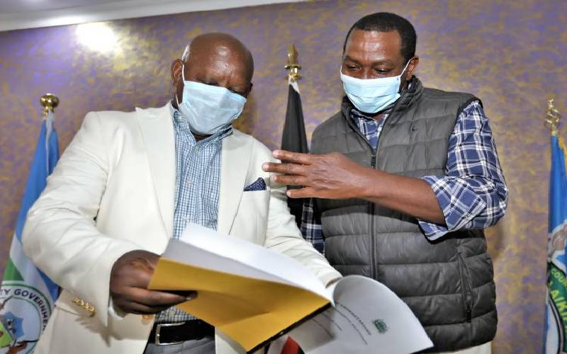 Nyeri, Laikipia counties sign deal on shared services