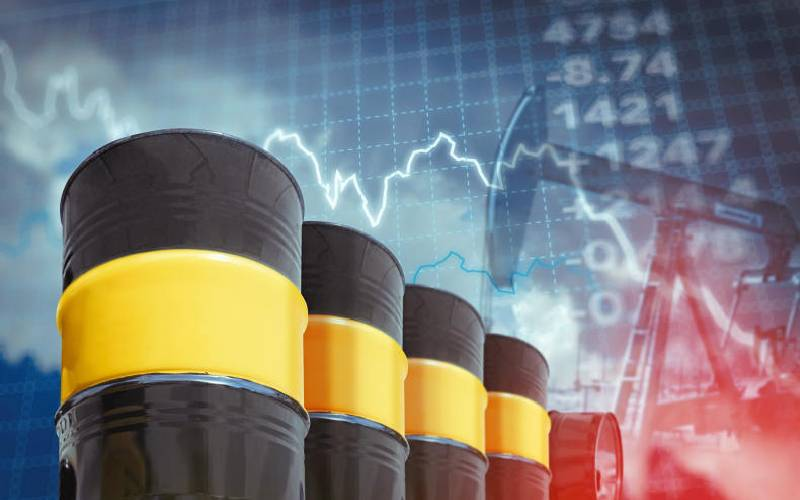 Oil climbs toward Sh7,000 a barrel