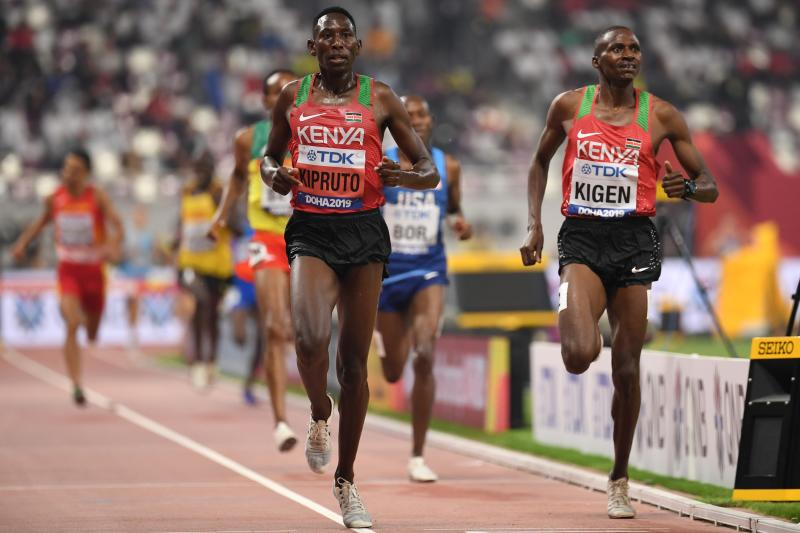Olympic champ Kipruto to launch season at Monaco Diamond League