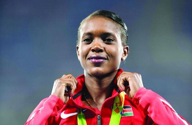Our faith looks up to thee 1,500m Olympic gold medallist Faith Chepngetich