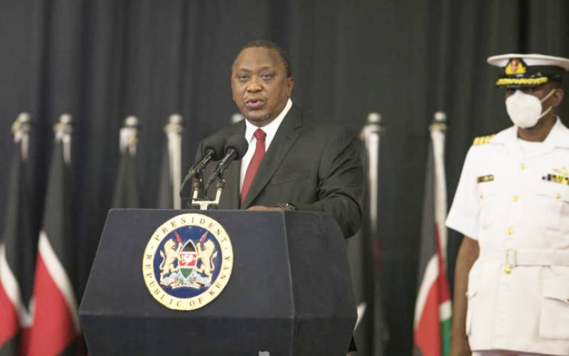 Uhuru welcomes debt relief for indebted developing countries