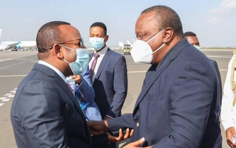 President Uhuru sells Mpesa to Ethiopians