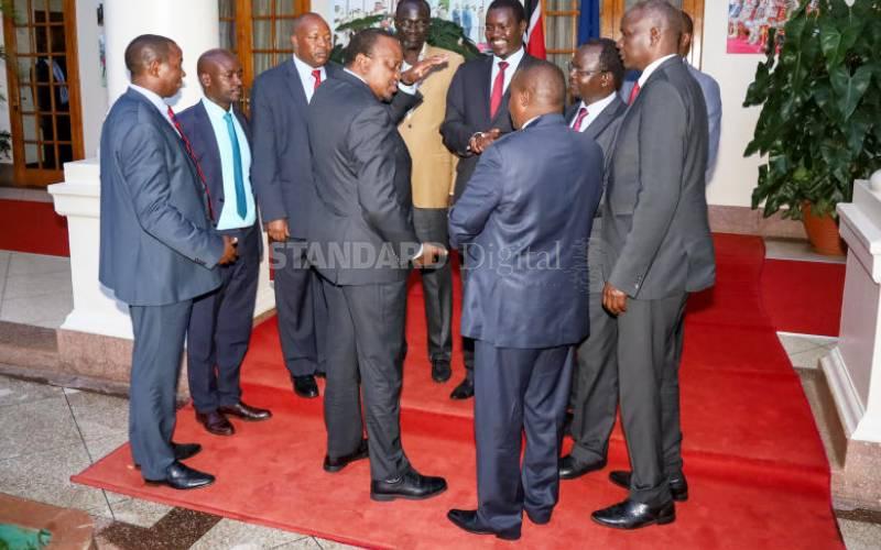 Raila has a key role in BBI, Uhuru tells Rift governors