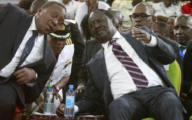 Raila: My deal with Uhuru is on reforms not 'nusu mkate'