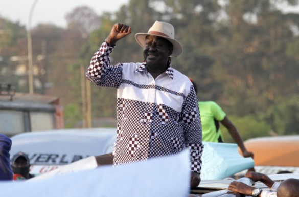 Raila urges government to re-look curriculum issues
