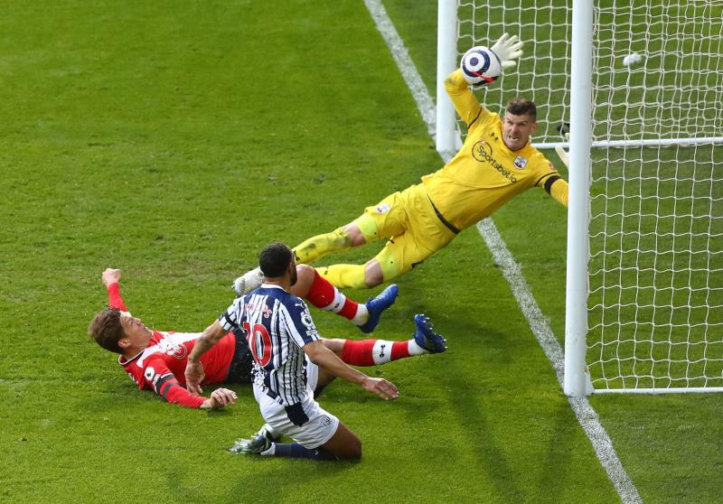 Rampant West Brom beat Southampton 3-0 to ignite survival hopes
