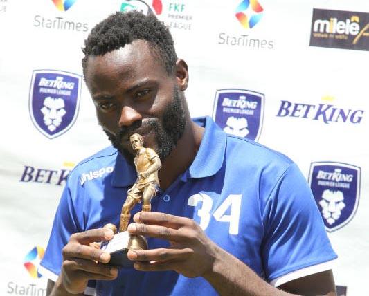 Rangers keeper Opiyo now eyes Stars slot after winning award