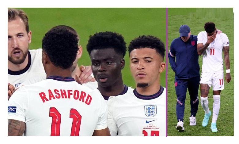 Rashford breaks silence on racist abuse- apologises for Euro final penalty miss