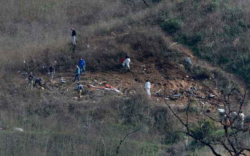 Three Bodies Recovered From Scene Of Tragic Kobe Bryant Helicopter Crash The Standard Sports