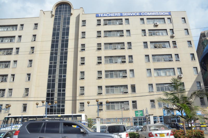 Teachers Service Commission (TSC) building in Nairobi. [Beverlyne Musili, Standard]