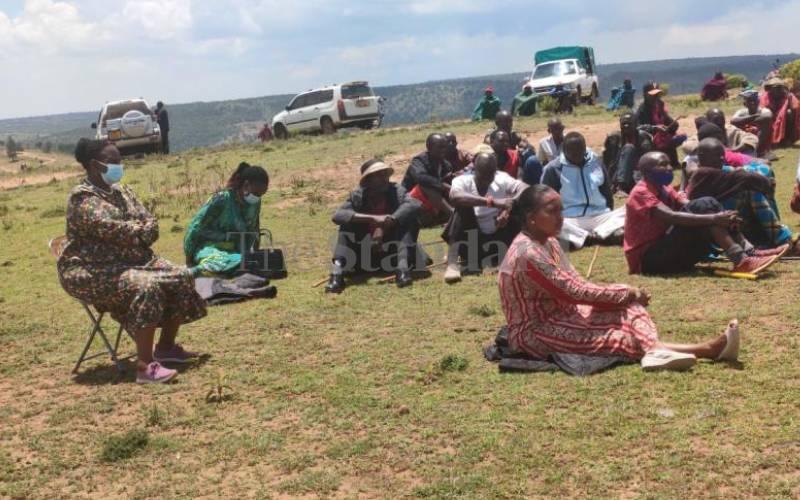 Samburu-Pokot leaders in bid to end hostilities