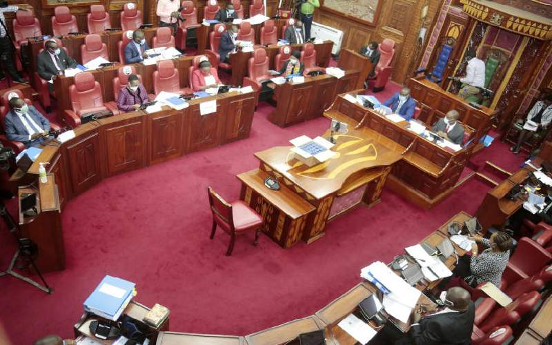 Senate adjourns counties revenue sharing formula debate for seventh time