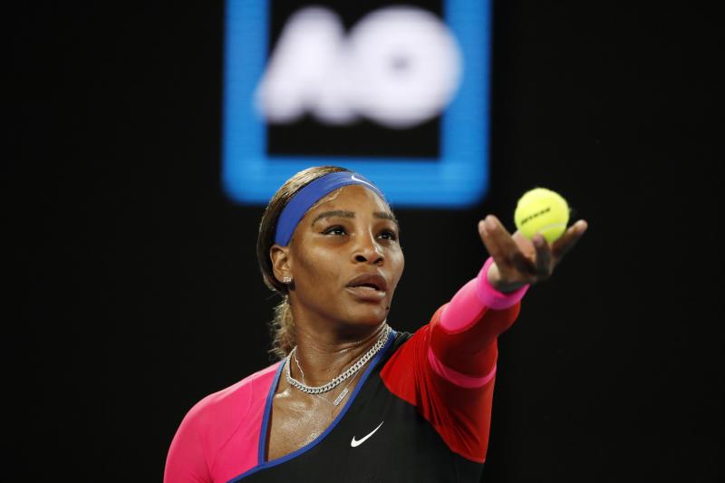 Serena beats Halep, sets up blockbuster Australian Open semi-final against Osaka