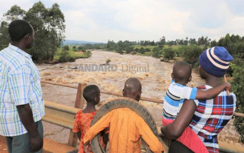 Shock as mother plunges children, herself into river