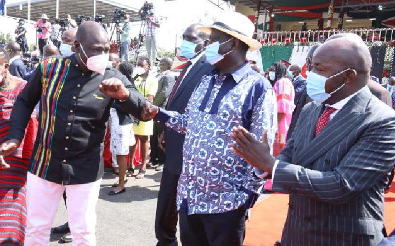 Show of might as VIPs bring Kisumu to a halt