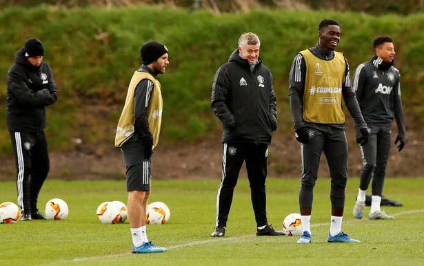 Solskjaer's 'planned military-style Man United training' before halt to season