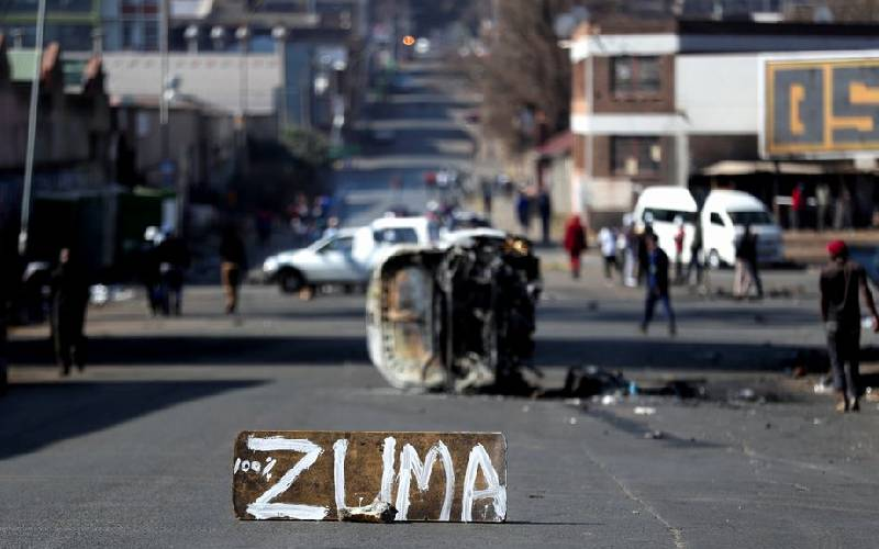 South Africa deploys army to quell unrest linked to Zuma jailing