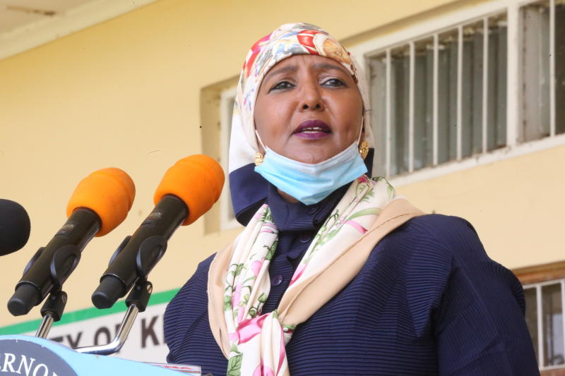 Sports CS Amina appoints advisory committee to prepare for resumption of sports activities