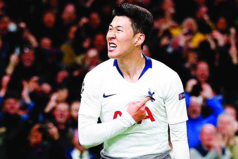 Spurs' Son Heung-min begin military training