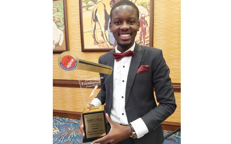Standard Group journalists shine at the AJEA Awards
