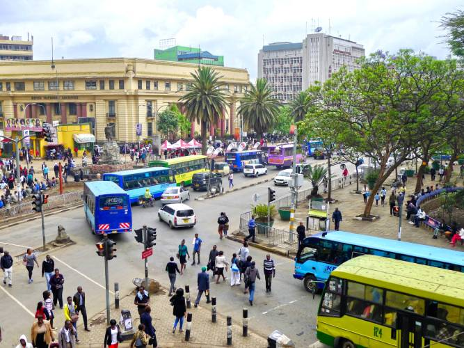 Surviving Nairobi's CBD: when friendliness is too suspicious