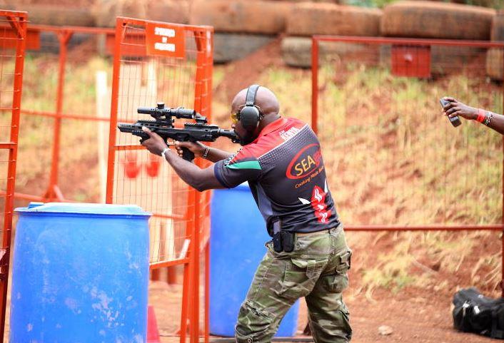 Team Kenya representing at the IDPA global shooting championships