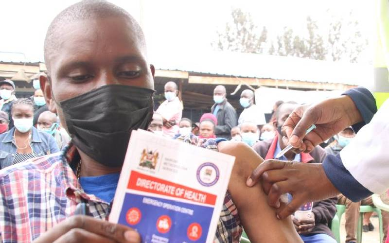 The best vaccine is that which is readily available, experts tell hesitant Kenyans
