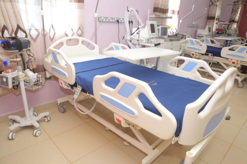 There are only 58 Covid-19 ICU beds in 'diseased counties'