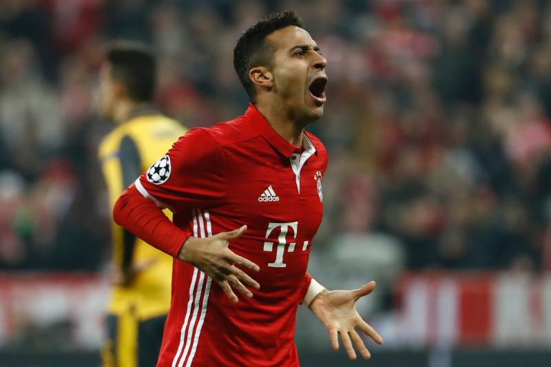 Thiago Alcantara's view on 'awesome' Liverpool during Anfield visit