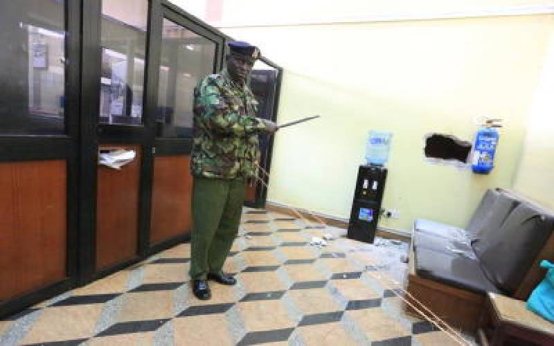 Thieves break into bank in attempted heist