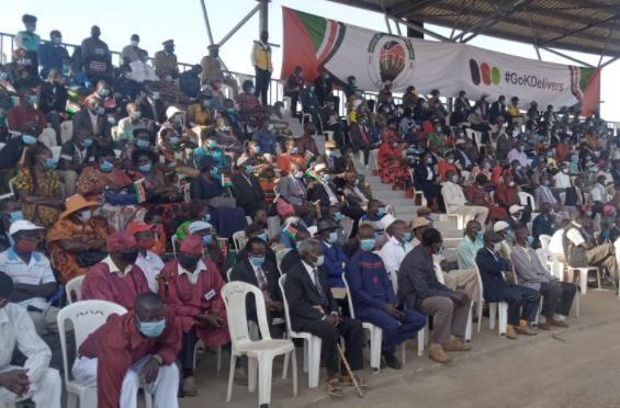 Thousands flock to Kisumu for Madaraka Day fete despite warning on new Covid variant