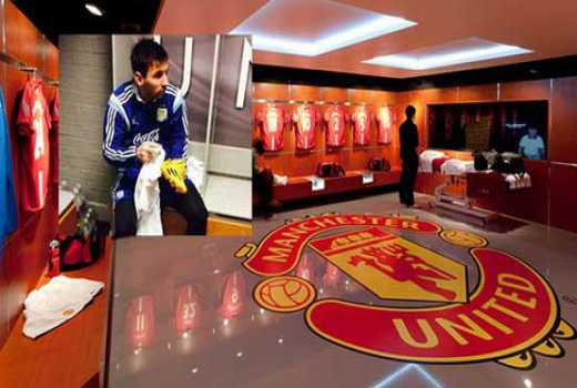 Picture Of Lionel Messi Pinned Up In Manchester United S Dressing Rooms Here S Why The Standard Sports