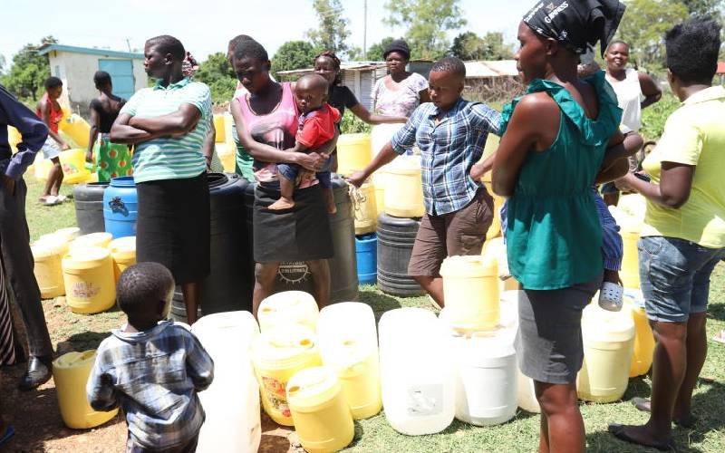 Broken pipes in Kisumu leave 7,000 locals without water