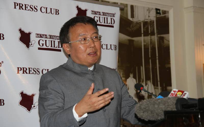 Chinese envoy: No Kenyan asset has been mortgaged for SGR loan