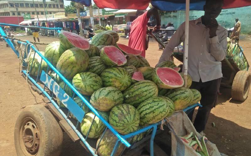 Farmers bitter as Ugandan melons flood the market