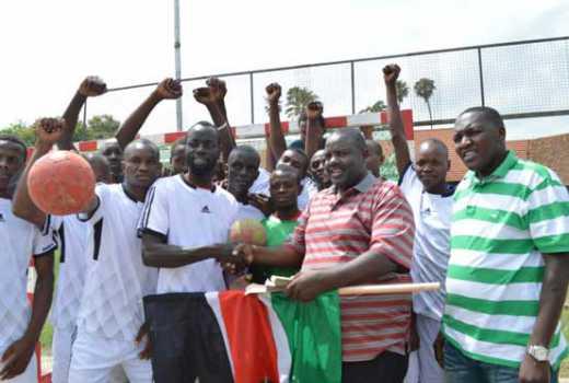 Football: Otty Fatha Memorial winners feted